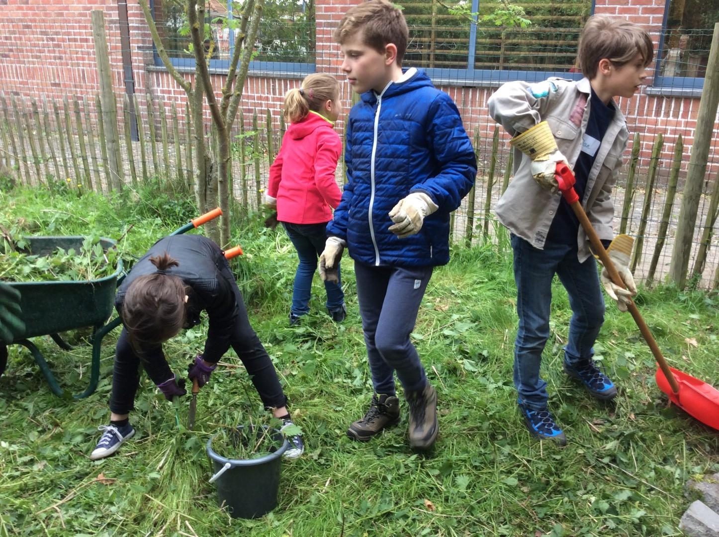 4de leerjaar – Project composteren: groendienst