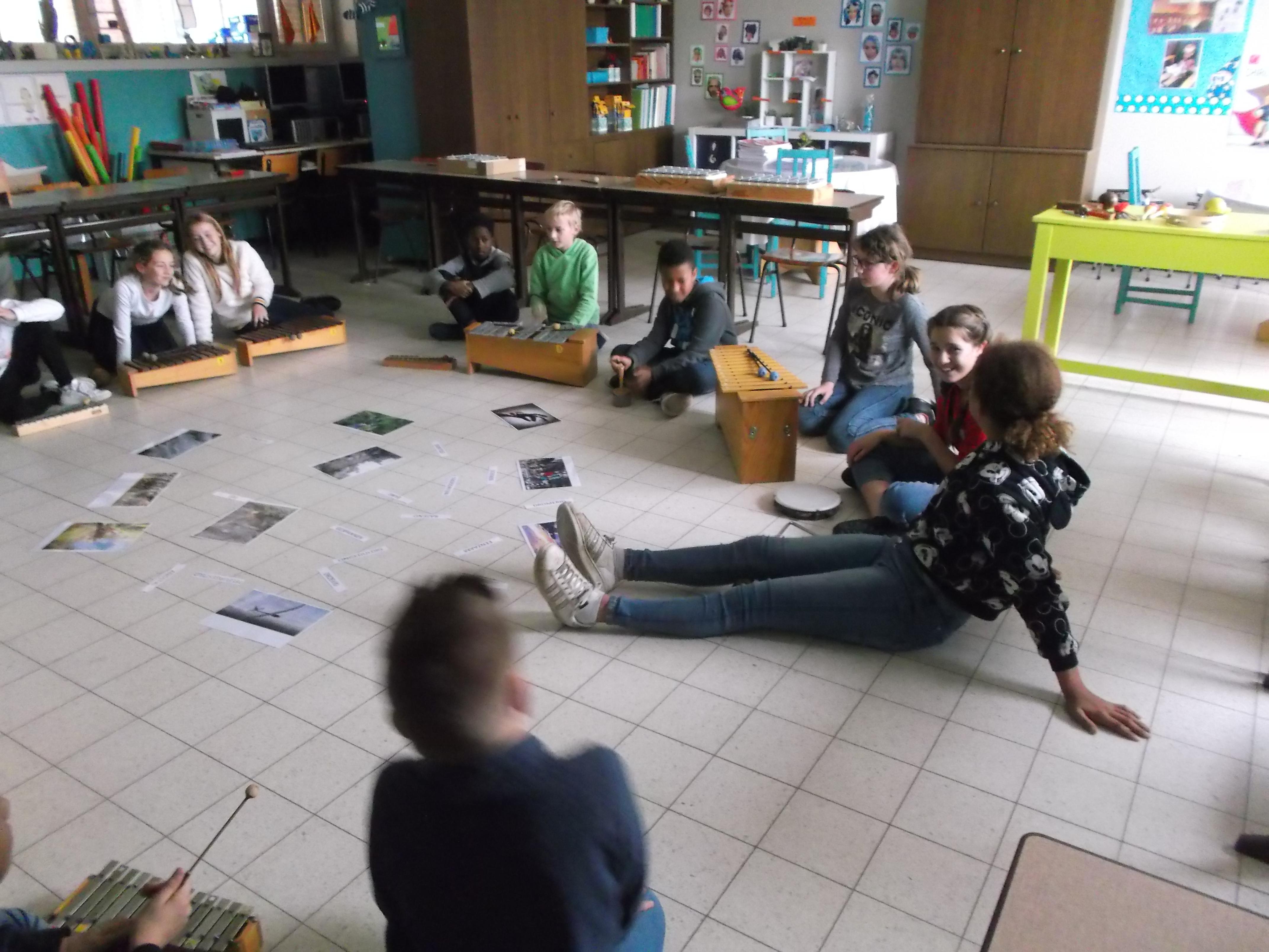Klankkleur van instrumenten: 6de leerjaar