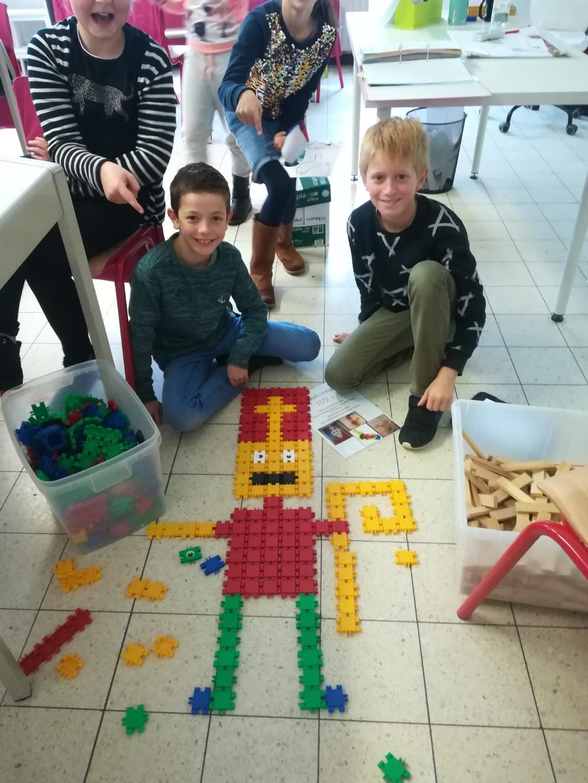 Hoekenwerk Sinterklaas 4B