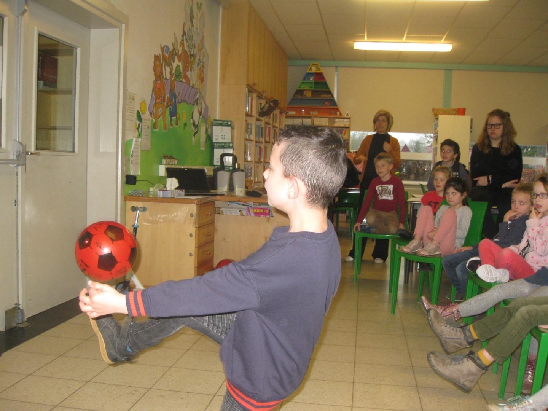 Wat een talent in het eerste leerjaar van Windekind!