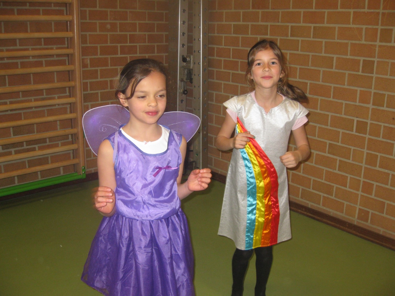 Carnaval in 1ste en 2de leerjaar