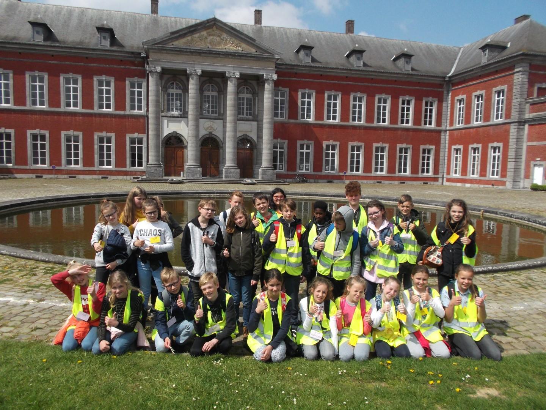 Uitwisselingsdag 6de leerjaar in Gembloux