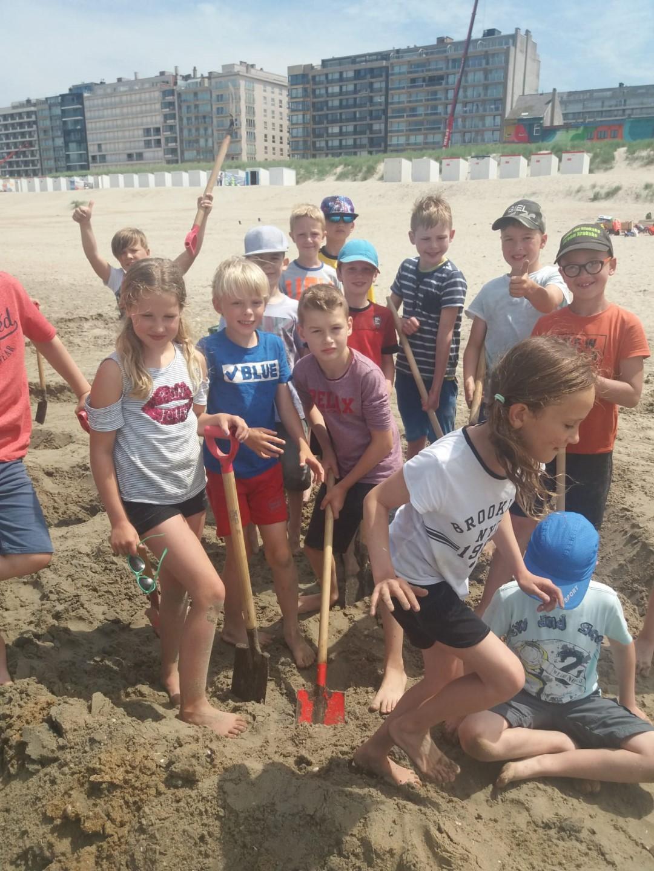Zeeklassen 3de leerjaar