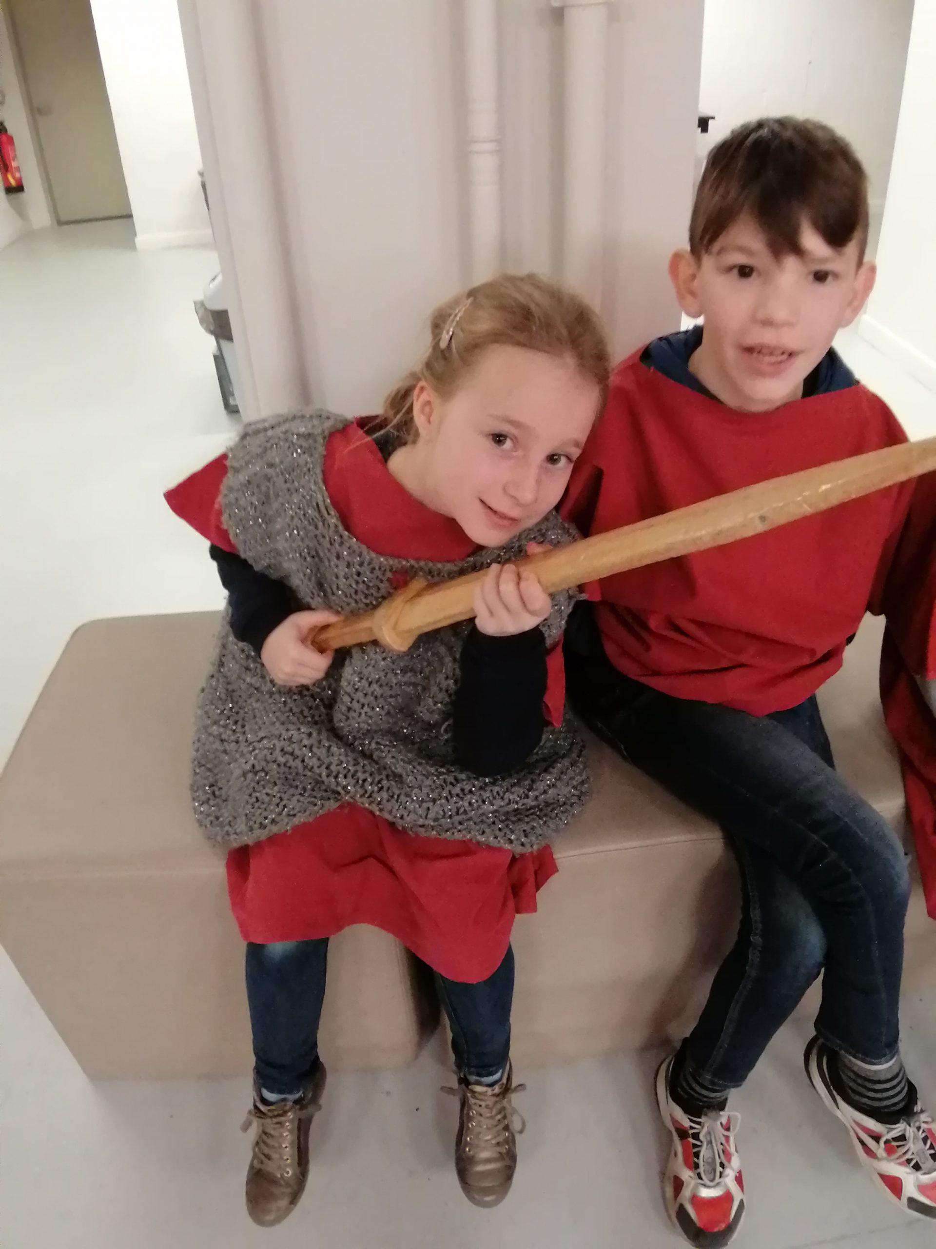 Gallo-Romeinsmuseum 4de leerjaar