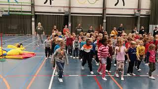 Eersteklassers in Kronkeldiedoe op maandag 18/11/2019